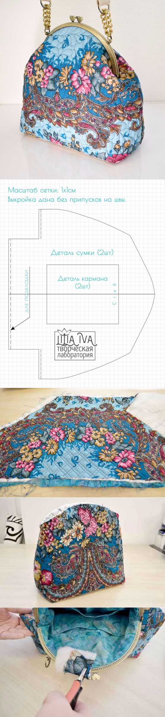 We sew a bag in the Russian style