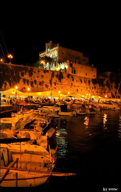 Puerto de Ciudadella, Menorca Spain
