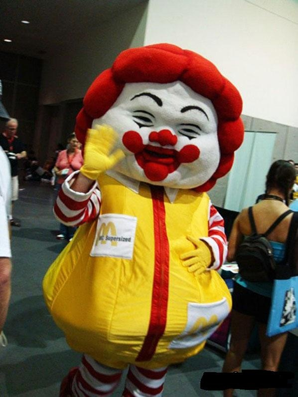 Truth in Advertising... keep eating Mickey D's and you'll look like this