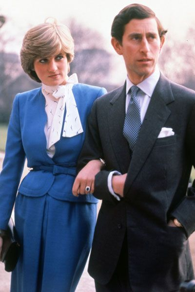 24 FEBRUARY 1981 THE ROYAL ENGAGEMENT: LADY DIANA SPENCER & HRH PRINCE CHARLES…