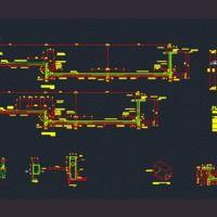Detalles Estructurales De Alberca (dwg - Dibujo de Autocad) - Detalles Constructivos