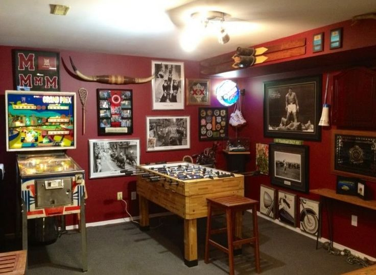 how to build a man cave in a basement