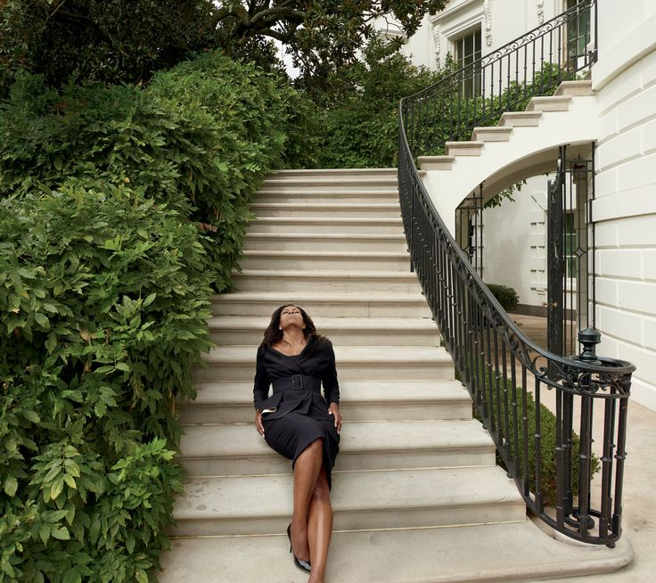This is what we call going high. First Lady Michelle Obama slays glamorous White House photoshoot.