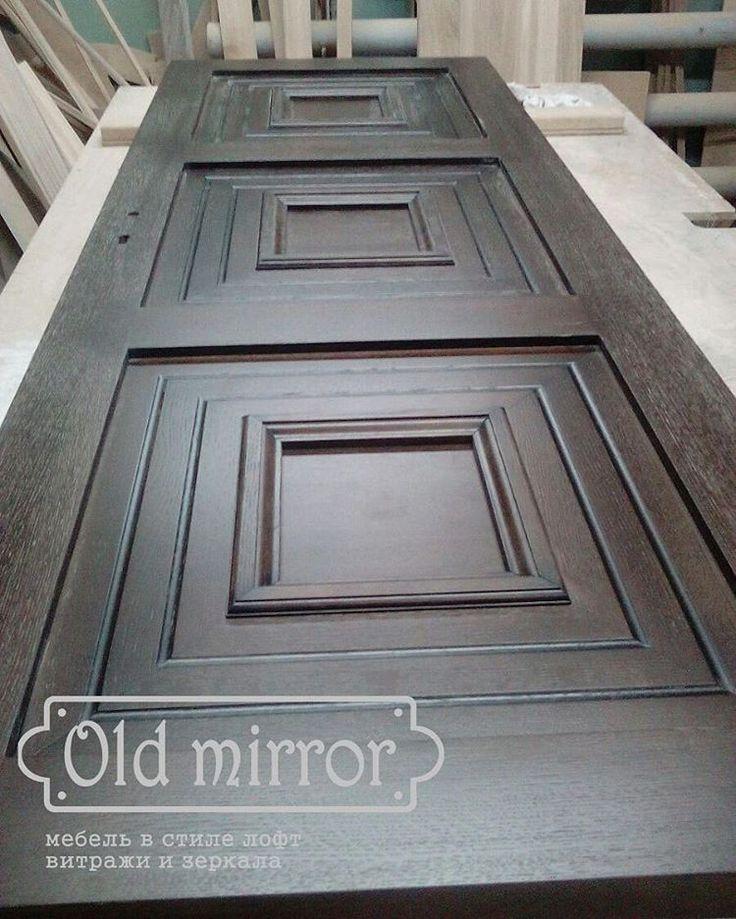 Двери из массива дуба.  #мебель #дизайн #дизайнер #дизайнинтерьера #интерьер #столярнаямастерская #мебельназаказ #роскошь #дизайнкоттеджа #мастерская #эко #eco #loft #лофт #interior #wood #furniture #homedecor #витраж #витражныепотолки #стеклодлямебели #амбарныедвери #стараядоска #двери