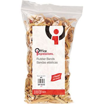 Office Impressions Rubber Bands, Size 33, 1 bag