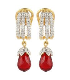 Buy Red Cubic Zirconia danglers-drops danglers-drop online