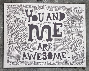 awesome.blossom: Tad Carpenter, Awesome Prints, Pin Today, Awesome Random, Love Is Al Awesome, Art Prints, Awesome Pin, Lovei Awesome, Be Awesome