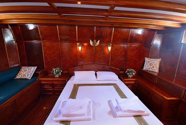 Peri, a luxury gulet for rent, by Barbaros Yachting