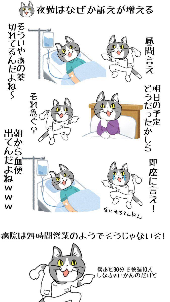 現場猫のtwitter漫画作品 おもしろ猫のミーム ユーモラス 猫