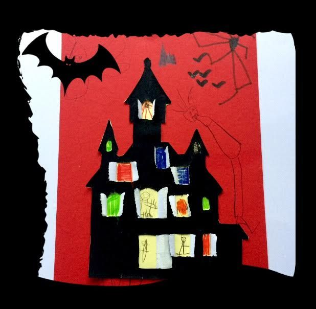 LUSTIGE HALLOWEEN IDEEN |ВЕСЕЛЫЕ ИДЕИ НА ХЭЛЛОУИН #kinder #kids #дети #basteln #diy #рисовать #malen #geisterhaus #hexenhäuschen #поделки