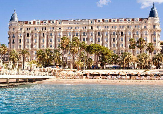 Carlton Intercontinental Hotel , Cannes, France