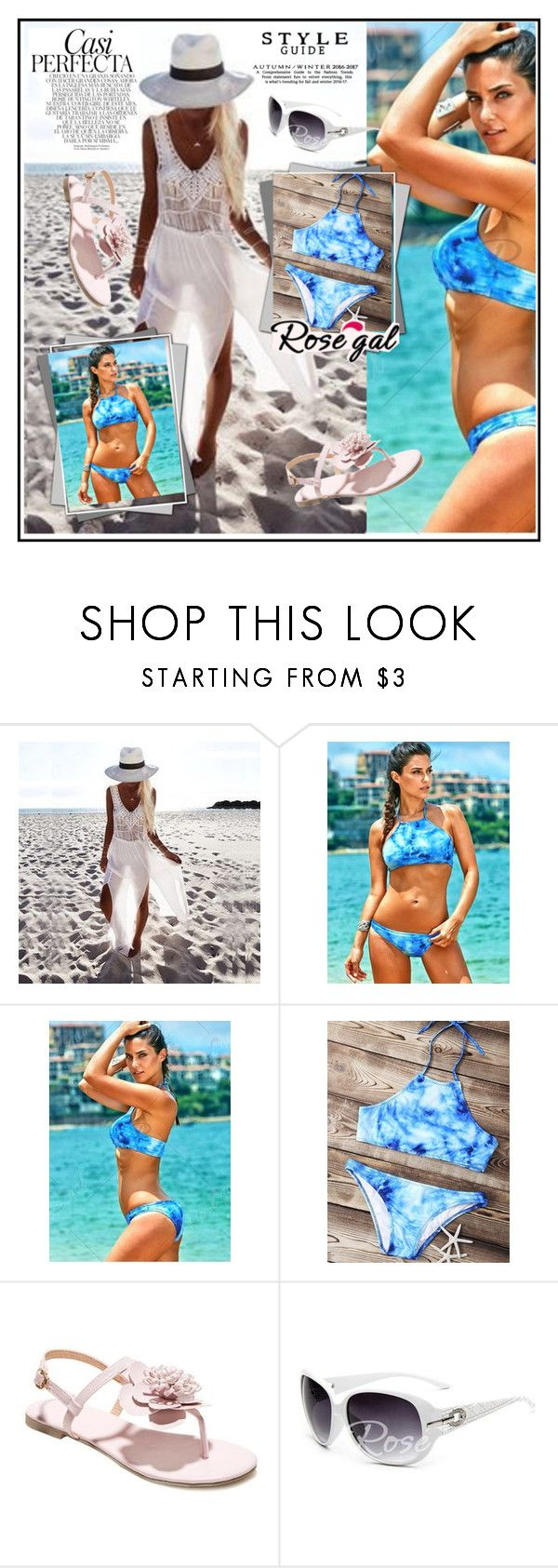 """""""Strapless bikini"""" by lila2510 ❤ liked on Polyvore featuring Whiteley"""