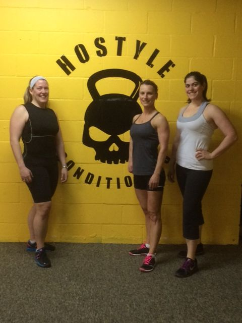 Kim, Nat and Stephanie rocking it after a workout!