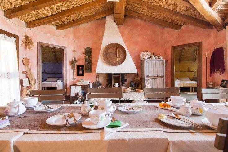 Sardinina traditional house interior