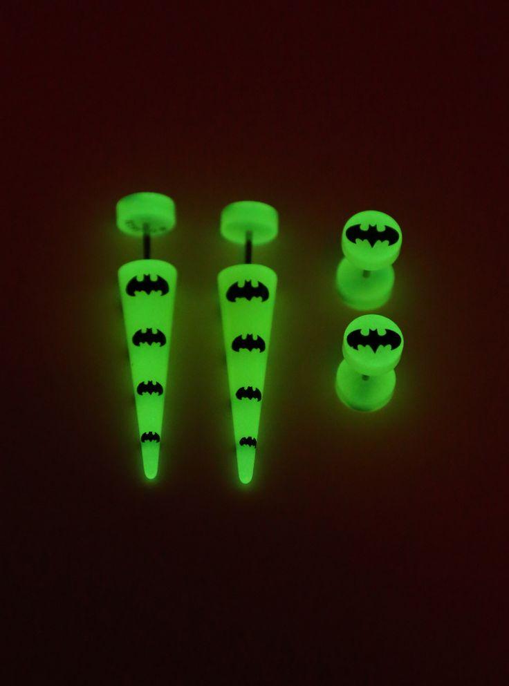 DC Comics Batman Faux Taper And Plug 4 Pack | Hot Topic