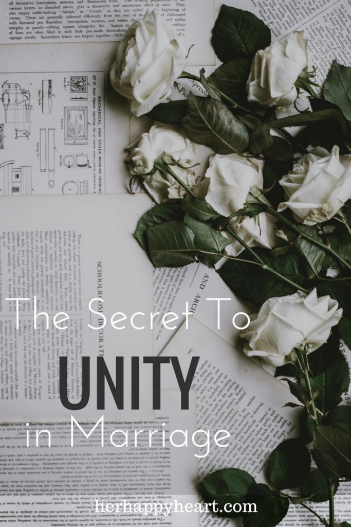 That's Where Marriage Is | Unity is the foundation of marriage - here's how to find it in yours.