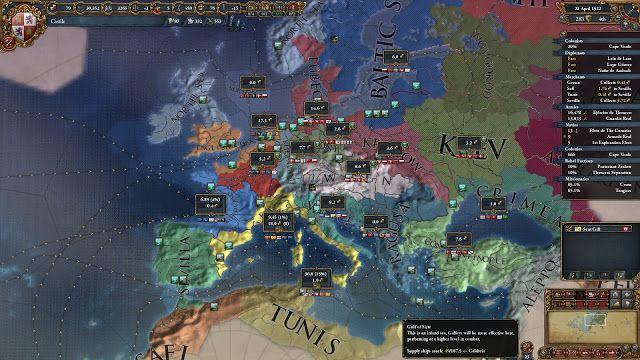 The Best Games Ever: Political Map | Europa Universalis 4 Screenshots