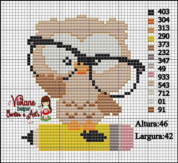 corujinha+oculos+e+lapis.jpg (604×554)