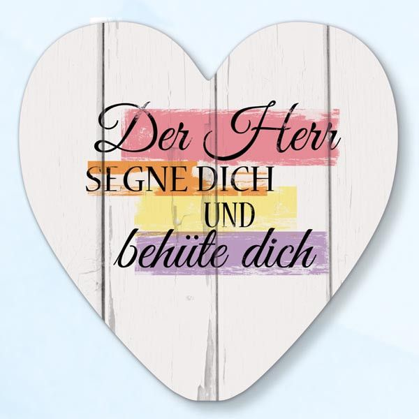 Wanddekoherz Der Herr Segne Dich | Bolanz Verlag e.K.