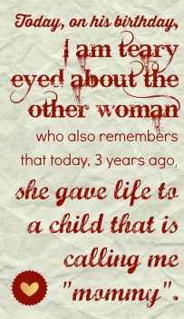 adoptee - birthdays - birth mom - always think of her, love our open adoption and we we care share these days together.