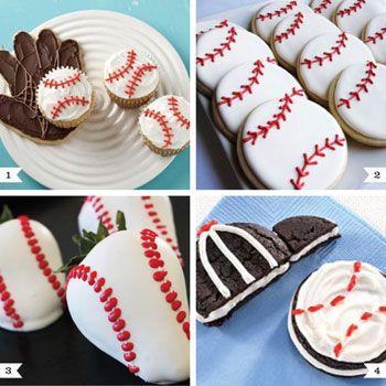 Baseball Party Desserts