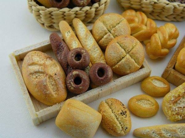 Bread Miniature! #artwork