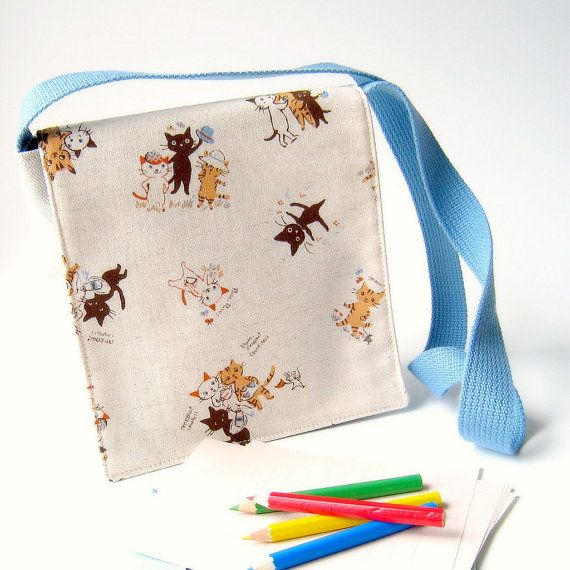 Toddle Messenger bag  - For Ian our Cat lover