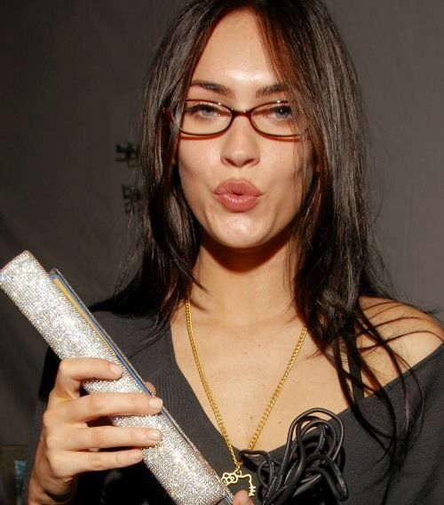 Megan Fox | Glasses | Pinterest | Foxes and Glasses