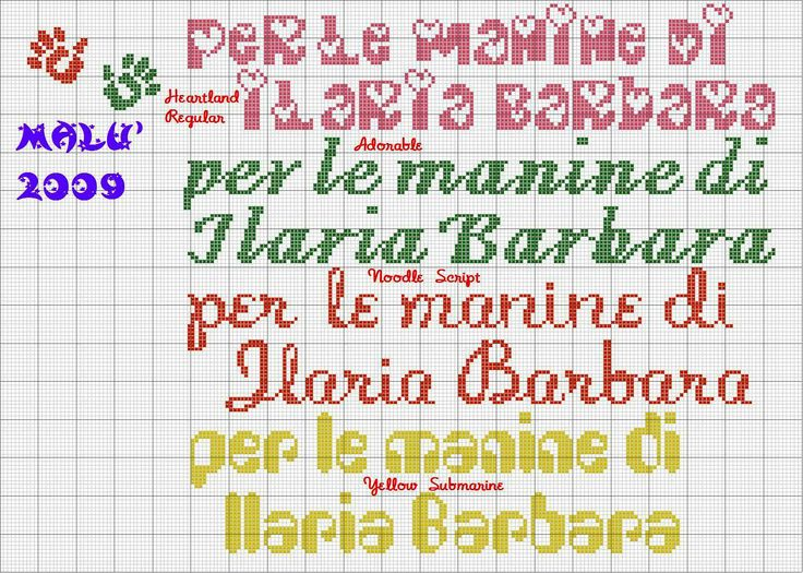 per le manine di Ilaria  Barbara