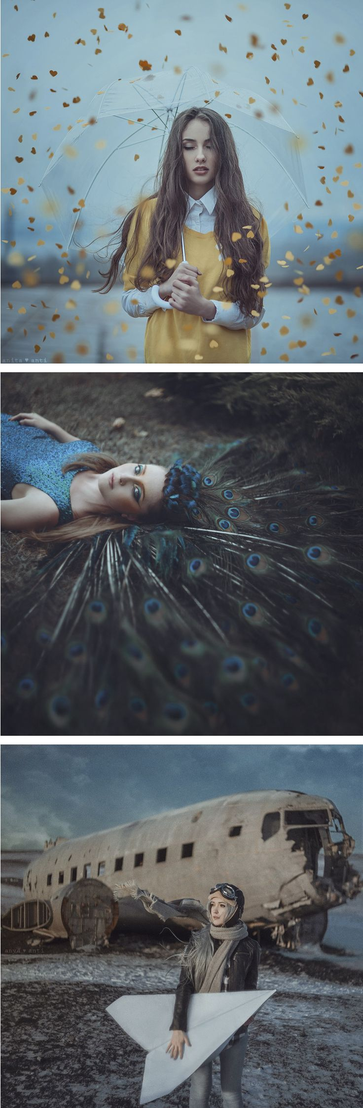 Anya Anti brings fantasy to life in her fine art conceptual photography.