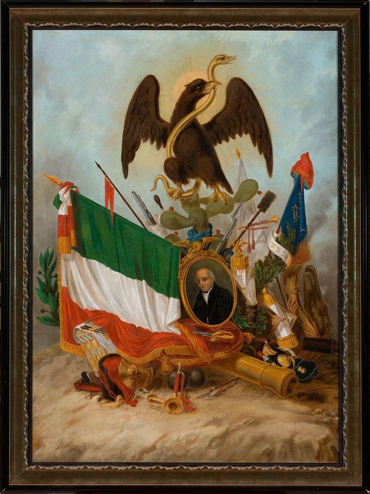 Alegoría de Miguel Hidalgo Autor F. Flores / Author 1882 Óleo sobre tela / Oil…