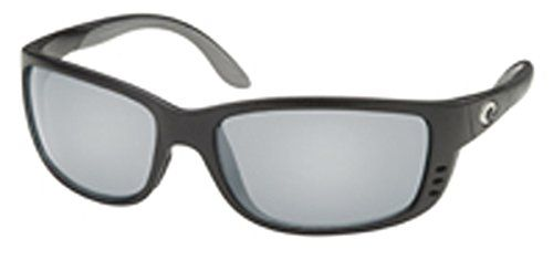 Costa Del Mar Sunglasses Zane Shiny Black Polarized Silver Mirror 580G. Frame Material: Plastic. Lens Material: Glass. Lens Width: 59mm. Bridge: 17.5mm. Arm: 125mm.