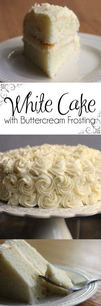 Making a Bakery Quality White Cake with Buttercream Frosting   White Cake   Wedding Cake   Birthday Cake   Best White Cake #BestWhiteCake #WhiteCake #WeddingCake #birthdaycake #Frosting #VanillaCake #AlmondCake
