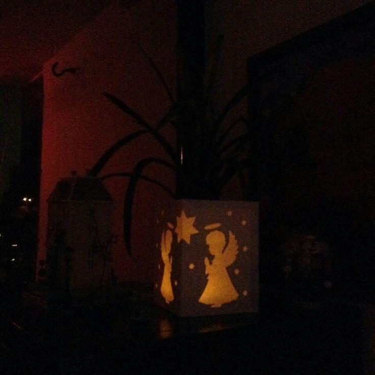 Iluminarias decorativas Angel de la guarda.