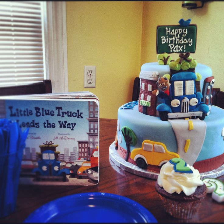 15 best Little Blue Truck Baby Shower images on Pinterest