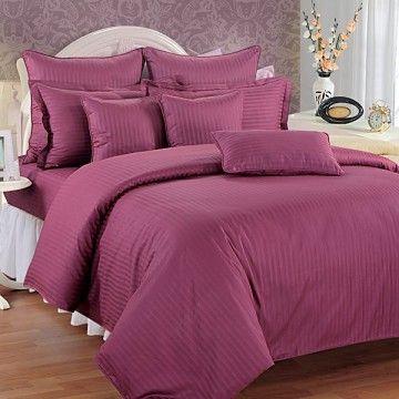 Ravishing Raspberry Bed Sheets- Sonata Jazz
