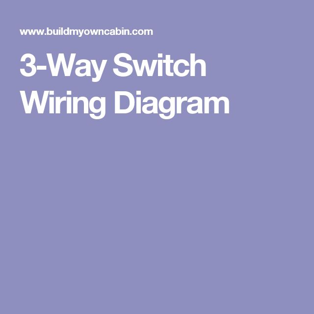 13 best electrical images on pinterest electrical projects 3 way switch wiring diagram asfbconference2016 Image collections