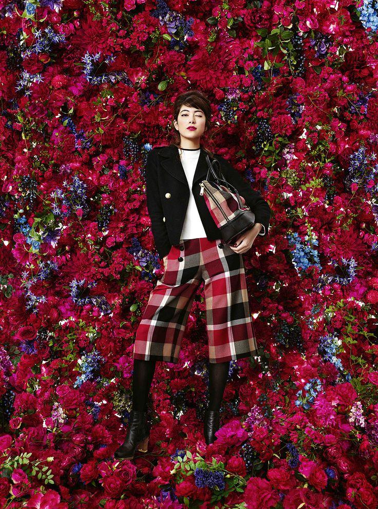AD / JR Nagoya Takashimaya   Mika Ninagawa Official Site