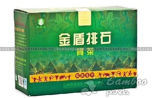 Тибетский чай для выведения камней из почек Золотой Щит