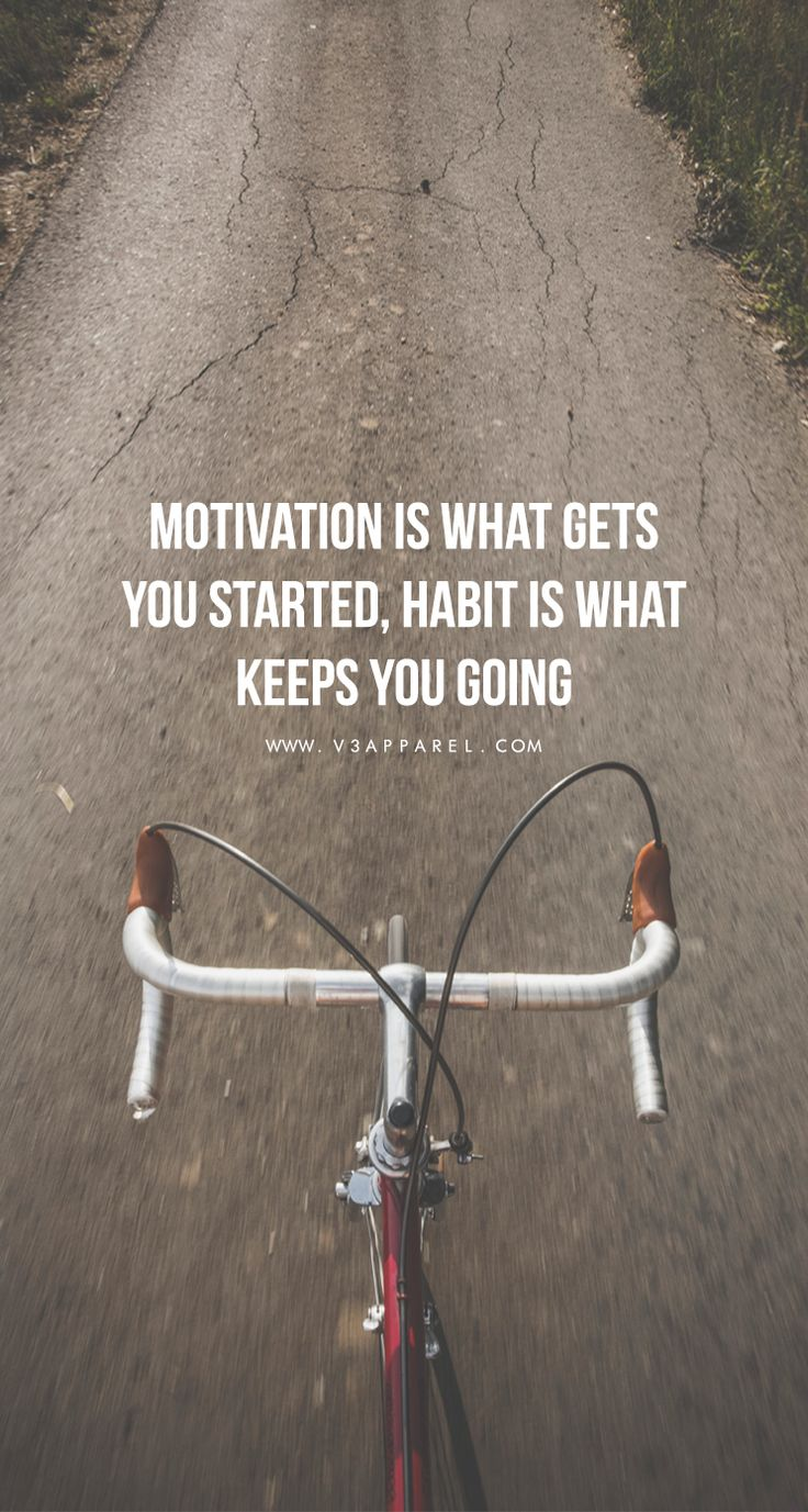 Motivation is what gets you started,habit is what keeps you going. Head over to www.V3Apparel.com/MadeToMotivate to download this wallpaper and many more for motivation on the go! / Fitness Motivation / Workout Quotes / Gym Inspiration / Motivational Quot https://www.musclesaurus.com