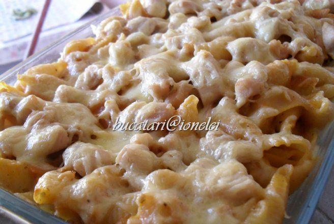 Retete Culinare - Paste cu piept de pui