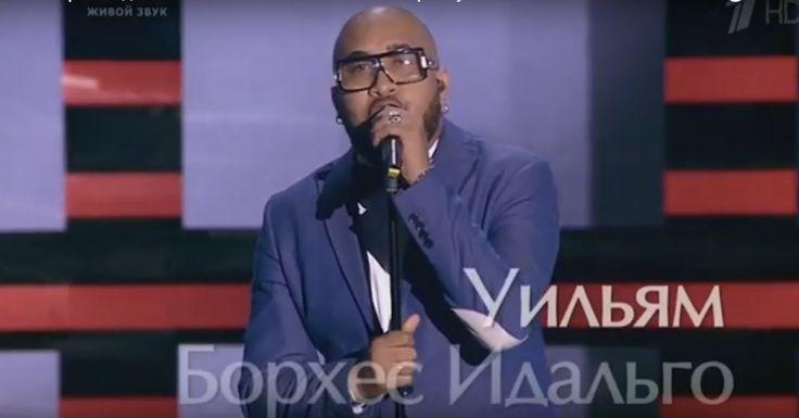 """Williams Borges, el cubano que participa en """"La Voz Rusia 2016""""… http://www.cubanos.guru/conoce-cubano-participa-la-voz-rusia-2016-video/"""