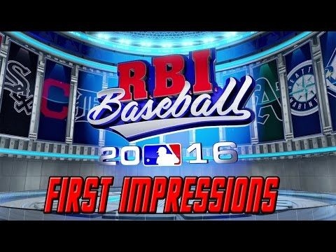 Top 5 Baseball Video Games - YouTube