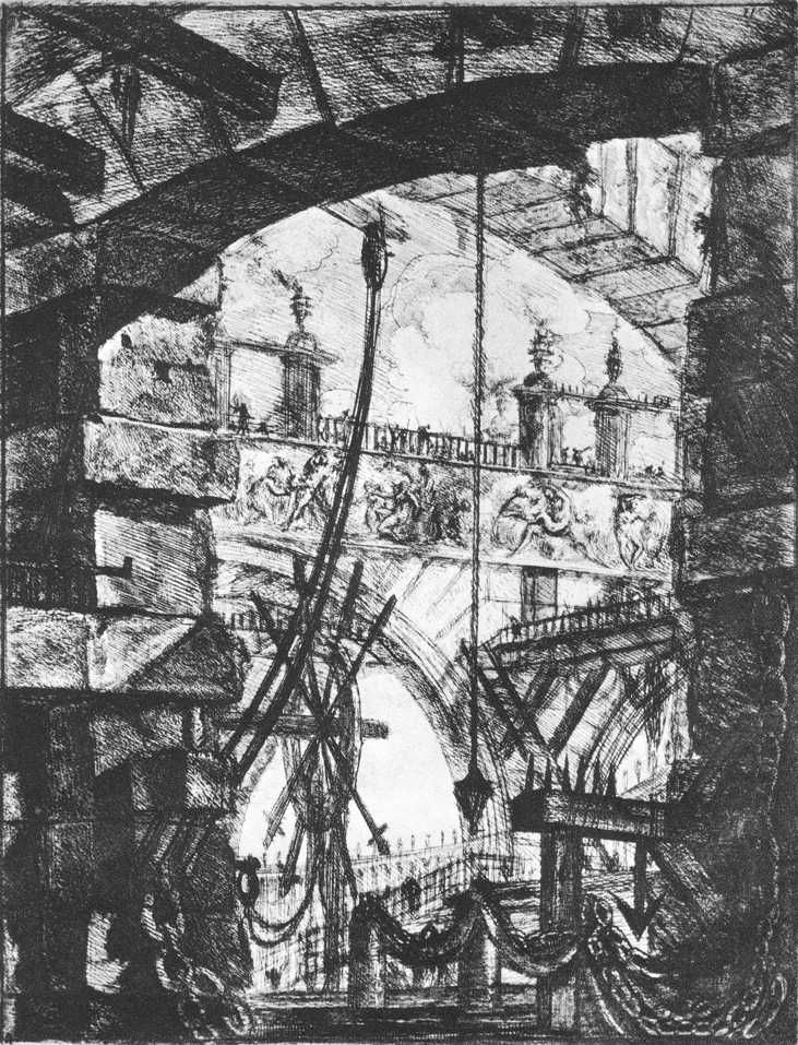 Giovanni Battista Piranesi, 1756, acquaforte