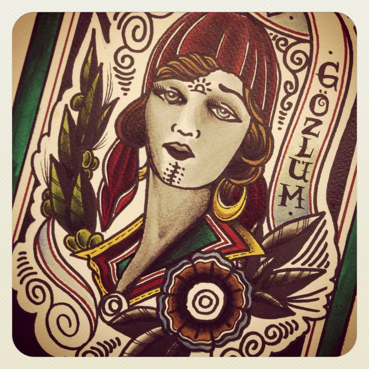 This turkish-anatolian girl I need to finish soon.availabla as a tattoo also. Who wants it?