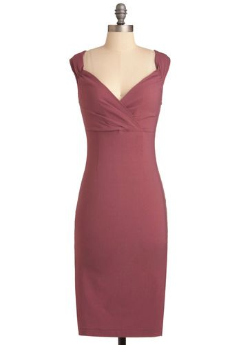 Lady Love Song Dress in Mauve