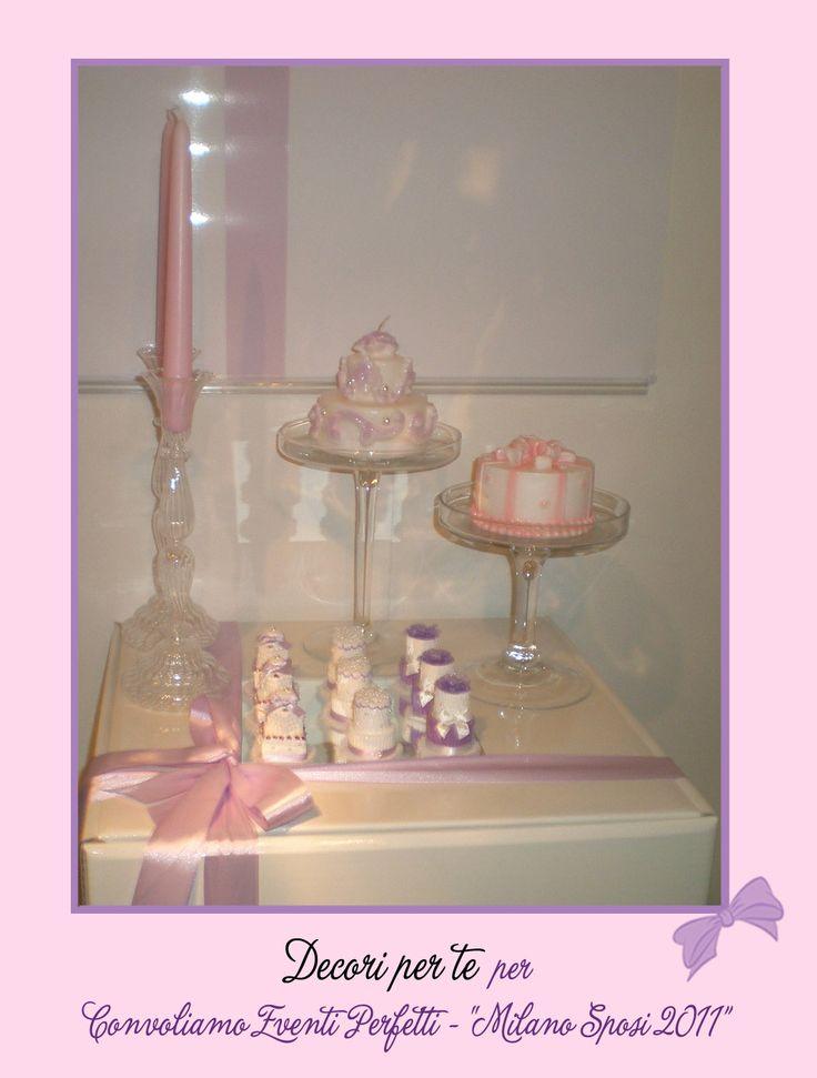 """""""Milano Sposi"""" Fair mini wedding cake"""