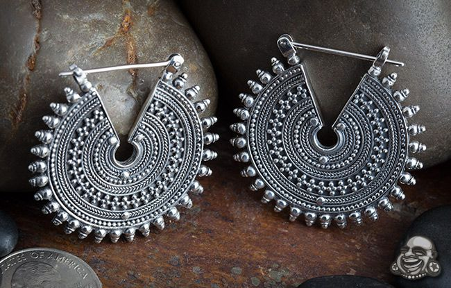 Solid sterling silver Gypsy for the People design