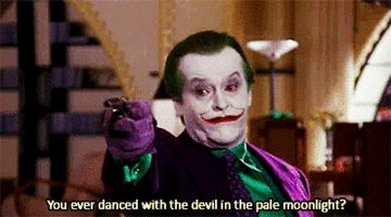Jack Nicholson Joker GIFs - Find & Share on GIPHY