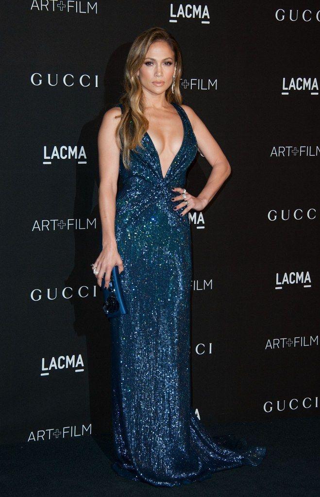 Jennifer Lopez glitter